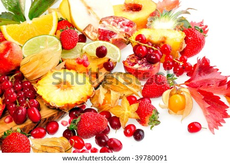 fresh fruits #39780091
