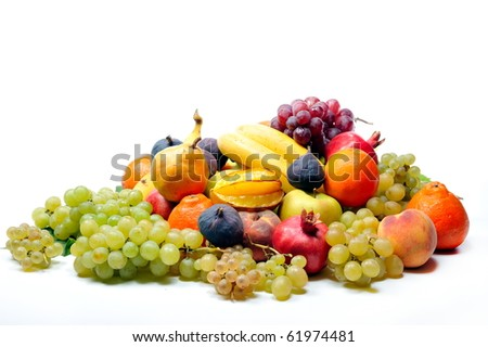 fresh fruits #61974481