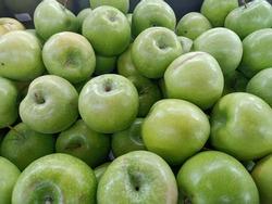 fresh healthy shiney Green apples