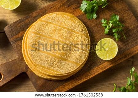 Photo of  Fresh Homemade Corn Tortillas Ready to Cook