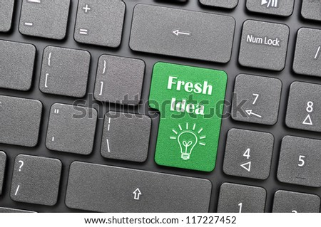 Fresh idea on keyboard
