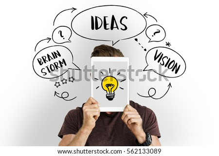 Fresh Ideas Creative Innovation Light bulb #562133089