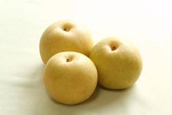 Fresh Japanese nashi pears