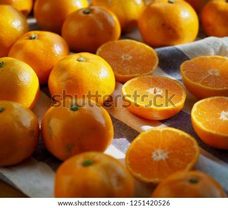 Fresh Korean fruit Jeju citrus, mandarin, tangerine   #1251420526