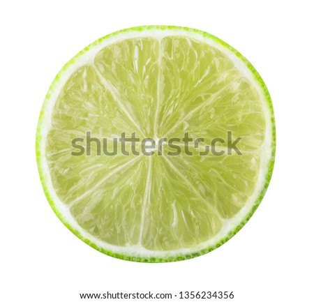 Fresh lime isolated on white background #1356234356