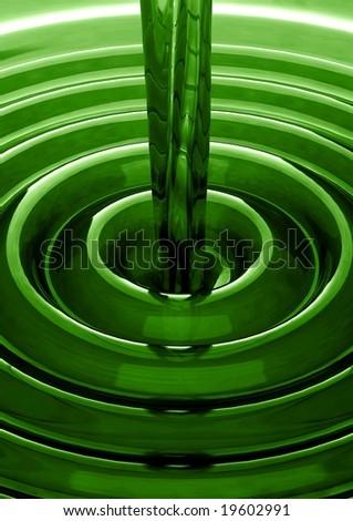 Fresh liquid lime concept