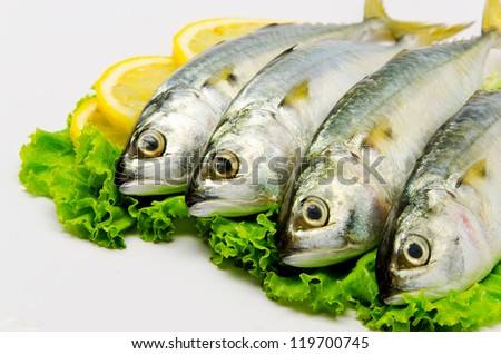 Fresh Mackerel with Lemon