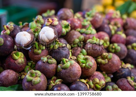 fresh mangosteen queen of fruit,fruit