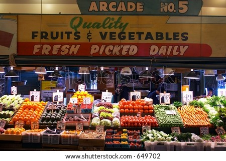 Fresh Market Produce