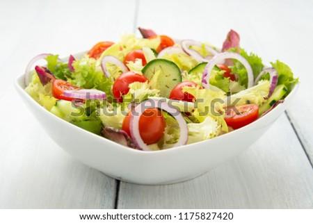 Fresh Mediterranean salad #1175827420