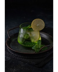 Fresh Mojito Drink Beverage Food Photography