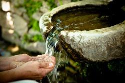 Fresh Mountain Spring Water