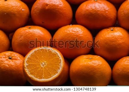 fresh orange fruits #1304748139