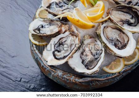 Fresh Oyster #703992334
