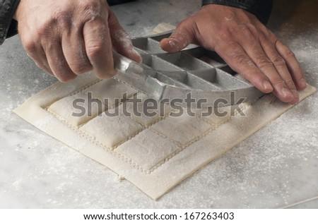 fresh pasta manual production