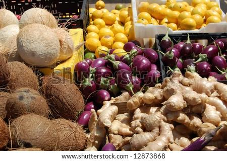 fresh produce at farmer's market