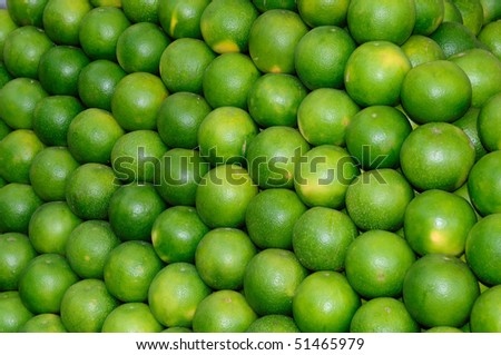 Fresh produce of sweetlime for your purchase at a local market