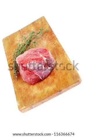Newest: Raw meat fillet