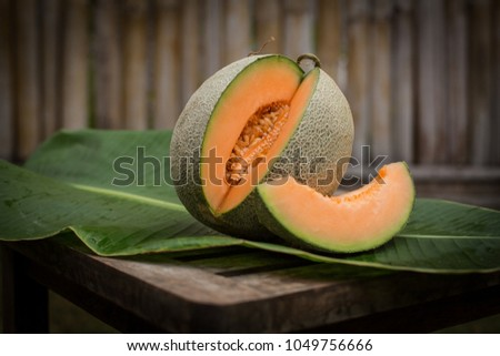 fresh rock melone
