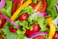 Fresh Salad close-up