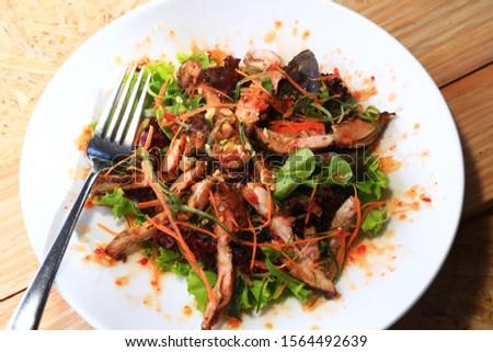 fresh salad green salad delicious salad jappanese salad vegetarian