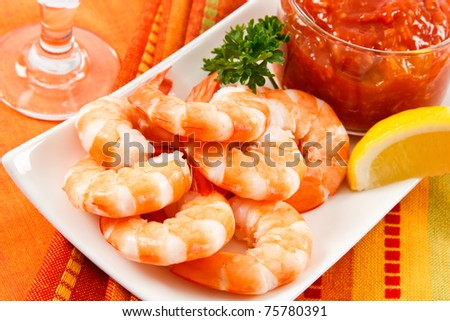 Fresh shrimp are a delicious gourmet appetizer and a dangerous food allergen.