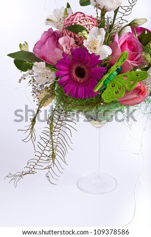 fresh spring bouquet