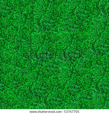 fresh spring green grass seamless pattern.