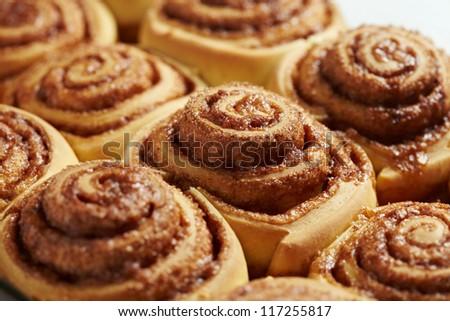 Fresh Sweet Homemade Cinnamon Rolls #117255817