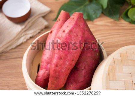 Fresh sweet potato sweet potato #1352278259