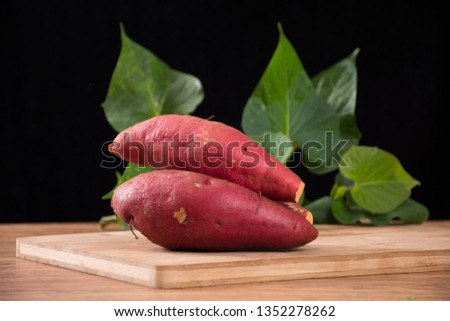 Fresh sweet potato sweet potato #1352278262