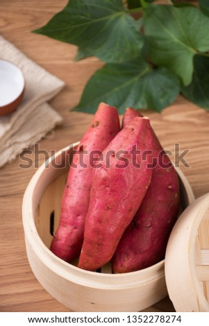 Fresh sweet potato sweet potato #1352278274