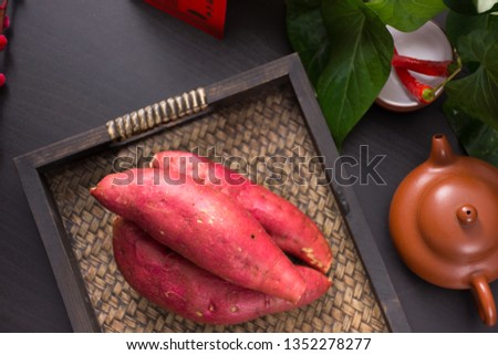 Fresh sweet potato sweet potato #1352278277