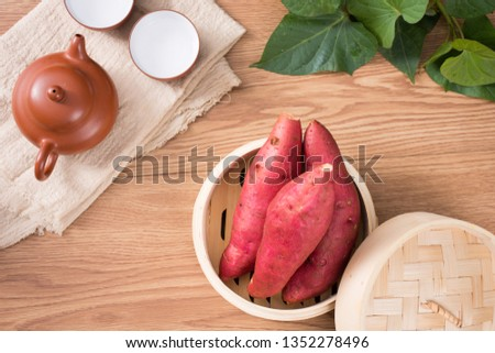 Fresh sweet potato sweet potato #1352278496