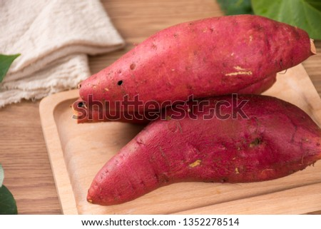 Fresh sweet potato sweet potato #1352278514