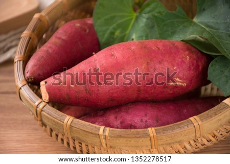Fresh sweet potato sweet potato #1352278517
