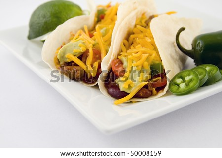 fresh taco, mexican food