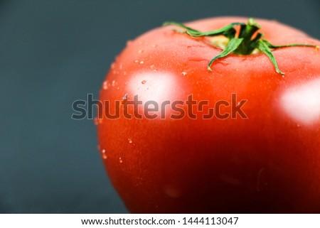 Fresh tomato and fresh vegetables