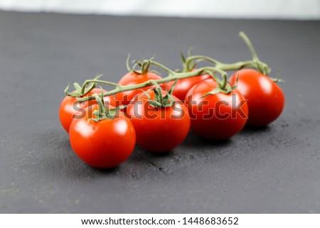 Fresh tomato and fresh vegetables  #1448683652