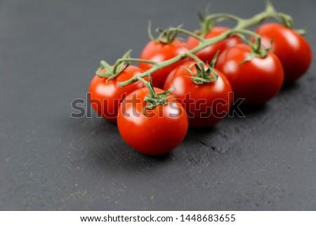 Fresh tomato and fresh vegetables  #1448683655