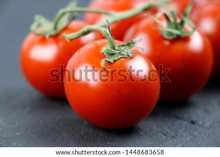 Fresh tomato and fresh vegetables  #1448683658