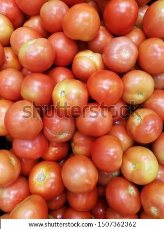 fresh tomatoes in  fresh market