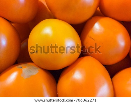 Fresh tomatoes. Tomatoes background. Ripe tomatoes. Tomatoes in market #706062271