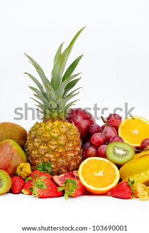 fresh tropical fruits #103690001