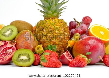 fresh various fruits #102272491