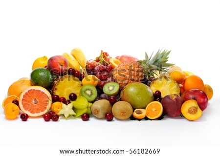 fresh various fruits #56182669