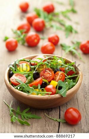 fresh vegetable salad #88869217