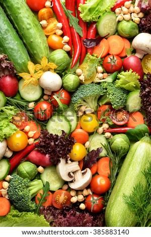 Fresh vegetables #385883140