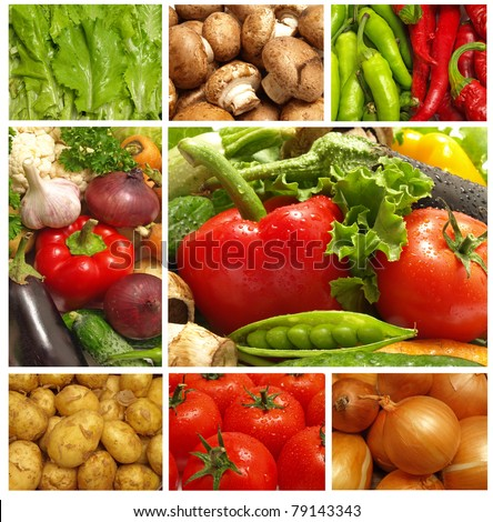 Fresh vegetables for all tastes
