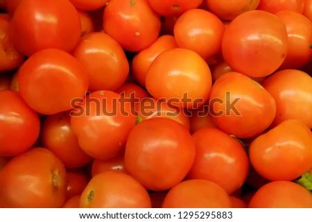 Fresh vegetables, fresh tomatoes  #1295295883